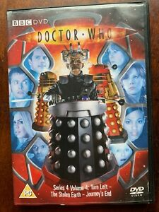 Doctor Who Series 4 Volume 4 DVD 2008 David Tennant BBC Sci-Fi Series