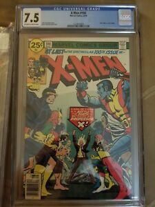 X-MEN #100 GRADED 7.5
