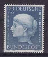 Bund Mi Nr. 203 **, Helfer der Menschheit 19V 1954, postfrisch, MNH