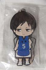 Kuroko no Basuke/Kuroko's Basketball YOSHITAKA MORIYAMA rubber strap/charm