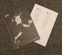Fulham v Burnley FA CUP 4TH ROUND Programme 24/1/2021! READY TO DISPATCH!!