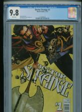 Doctor Strange #1 (2015) CGC 9.8 WHITE pages Jason Aaron Chris Bachalo