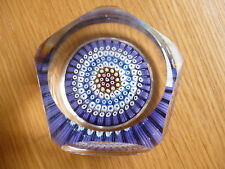 VINTAGE SULFURE PRESSE PAPIER PAPERWEIGHT PERTHSHIRE  WHITEFRIARS BACCARAT