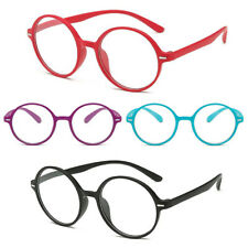 Retro Womens Oval Round Resin Reading Reader Glasses Lightweight Mens +1.0 ~ 4.0