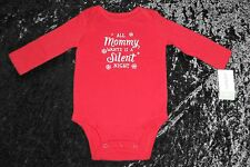 Christmas Carters All Mommy Wants Is A Silent Night Infant Bodysuit (6 Months)