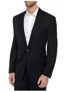 Lauren Ralph Lauren Men's Classic Fit Suit Coat Ultra flex Blazer Black 46R NWT