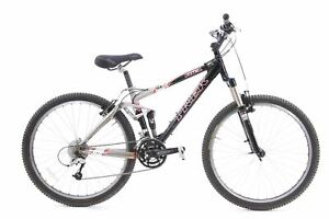 "USED Early 2000s Trek Fuel Full Sus Mountain Bike Small 3x8 speed 26"" Wheels"