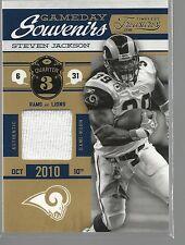 2011 Timeless Treasures Game Day Souvenirs 3rd Quarter #11 Steven Jackson 142/25