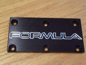Tpi Lt1 Formula Throttle Body Cover Plate Pontiac Firebird Trans Am GTA Black