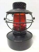 Handlan St Louis Railroad Lantern/Lamp Red Glass Globe