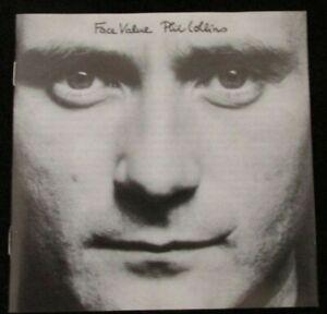 Phil Collins Face Value UK Picture CD Album