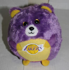"""Ty Beanie Ballz Los Angeles LA Lakers with ty tag  Plush Soft Toy  Preloved 12""""H"""