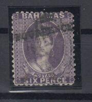 C2661/ BRITISH BAHAMAS – VICTORIA – SG # 45 USED CERTIFICATE – CV 495 $
