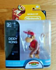 Diddy Kong Jakks Action Figure Rare Brand New Super Mario World of Nintendo VHTF