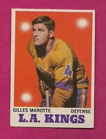 1970-71 OPC  # 34 KINGS GILLES MAROTTE EX CARD (INV#4767)