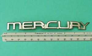 Nice 1996-1999 Mercury Sable-Mercury Trunk Lid Emblem-Badge