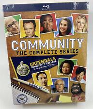 Community The Complete Series Blu Ray Seasons 1-6 Box Set (12 Disc) NBC Tv NEW