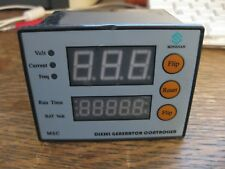 Diesel Generator Controller Module Mingjian MSC Volts Current Freq Run Time Bat