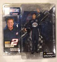 RUSTY WALLACE Series 1 Action Figure McFarlane Toys NASCAR NIP 2003