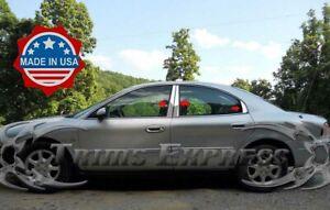 1996-2004 Mercury Sable 6Pc Chrome Pillar Post Stainless Steel Trim Door Cover