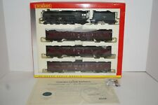 OO Hornby Thames-Clyde Express weathered Britania BR loco + 3 Passenger coaches