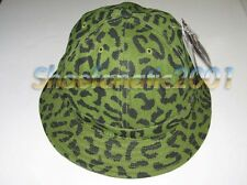 Undefeated New Era Combat fitted bucket hat 7 3/8 UNDFTD 5 Strikes Olive Camo