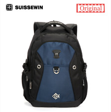 "SUISSEWIN Swiss Backpack/Travel Backpack/School Backpack sn7009 15"" Laptop"