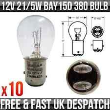 12V 21/5W Bay15d Stop & POSTERIORE LAMPADINE' E' MARCHIO 380 x 10