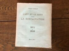Jacques Robiquet ARTE Y El Sabor Sous La Comida 1814 De 1830 Amapola 1927