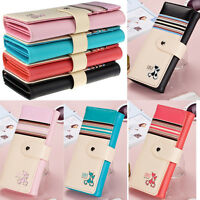 UK Women Ladies Long Card Holder Case Purse Brand Handbag Leather Clutch Wallet