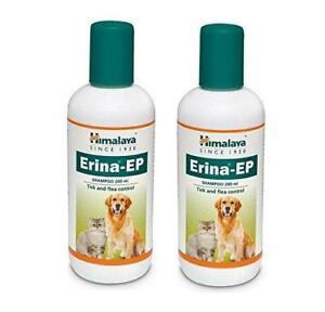 3 X Herbal Pets,Dogs,Cats Erina-EP Tick & Flea Control Shampoo 200 ml Free Ship.