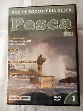 VIDEOENCICLOPEDIA DELLA PESCA Numero 1 Hobby & Work  Film DVD