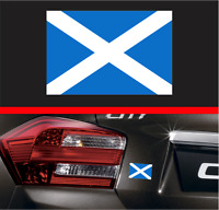 "4"" Scottish Flag Vinyl Decal Bumper Sticker Scotland Laptop Car Window Sticker"