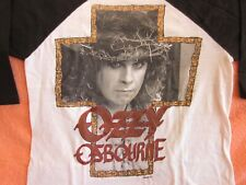 Vintage Ozzy Osbourne Concert Shirt 1988 Lg New Years Eve Long Beach California