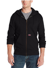 Dickies Men's Lightweight Zip Up Fleece Hoodie, Color Options