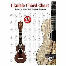 Alfred's Ukulele Chord Chart : A Chart of All the Basic Chords in Every Key,...