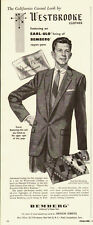 1953 vintage Ad, Westbrooke Clothes styled for comedian Donald  O'Conner -052214