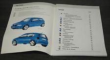 VW Polo 3 III 6N  Modell 1995 Selbststudienprogramm  SSP 166 Stand  08/1994
