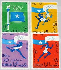 SOMALIA 1960 8-11 248-49 C73-74 Olympics Rome Sport Torch Fakel Running MNH