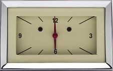 1957 Chevy Bel Air Classic Instruments Gauge Clock Tan