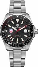 Tag Heuer WAY201G.BA0927 Aquaracer 43MM para Hombre de Acero Inoxidable Reloj