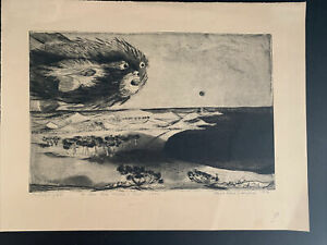 1958 Signed Paul Rene Gauguin Lithograph