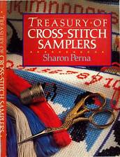 SHARON PERNA TREASURY OF CROSS STITCH SAMPLERS H/C D/J