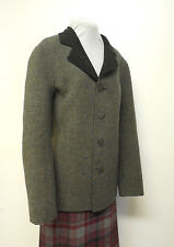 PENDLETON Double Time Reversible Black Gray Wool Jacket