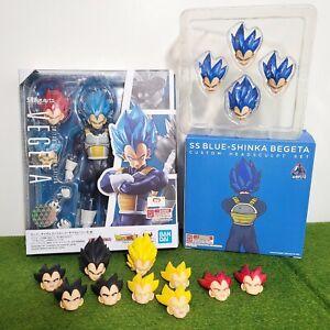 Dragon Ball Z GT Super Vegeta Broly DELUXE Demoniacal Fit Figuarts READ BELOW