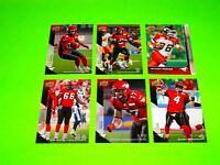 6 CALGARY STAMPEDERS UPPER DECK CFL FOOTBALL CARDS 12 14 16 20 21 75  #-2