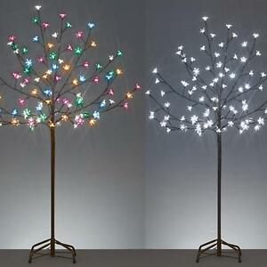 Christmas Decoration LED 1.2M Light up Cherry Blossom Tree - Choose Colour