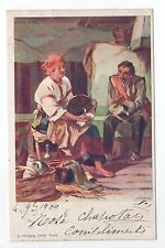 RUSSIE Russia Théme Types russes costumes personnages homme et femme