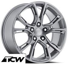 "17 inch Spider Monkey SRT8 OE Factory Replica Silver Gray Wheels 5x127 5x5"" +34"