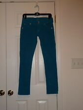 HUDSON USA TWM LOW RISE COLLIN FLAP SKINNY LEG CORDUROY STRETCH JEANS SIZE 25